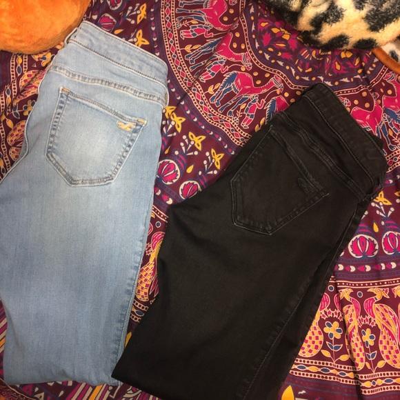 Hollister Pants - Hollister skinny jeans